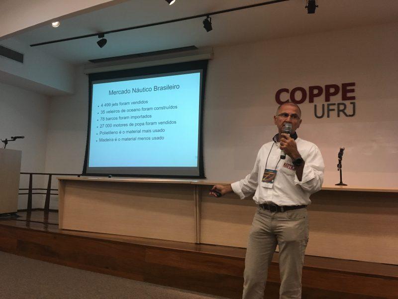 Marcio Dottori, diretor técnico da Revista Náutica, falou sobre o mercado náutico no Brasil (Fonte: BRANA).