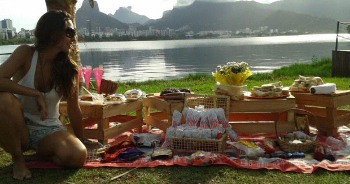 Pic Nic às margens da Lagoa, um programa de fim de semana (Fonte: O Globo - g1.globo.com)