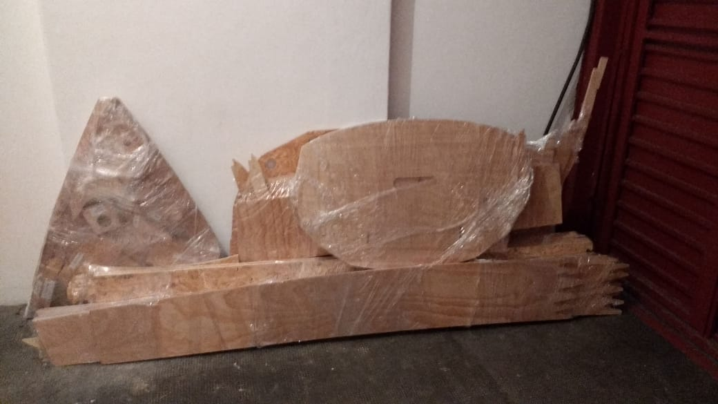 Kit completo veleiro 16 pes compensando naval