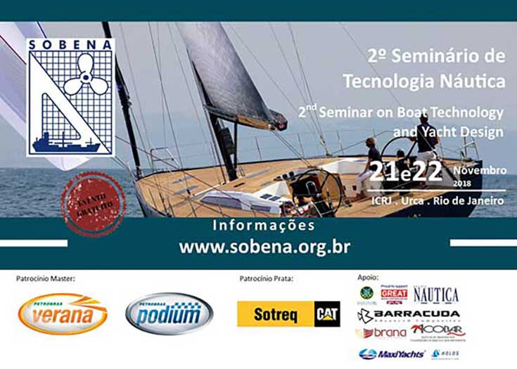 Segundo Seminário de Tecnologia Nautica Rio de Janeiro 2018