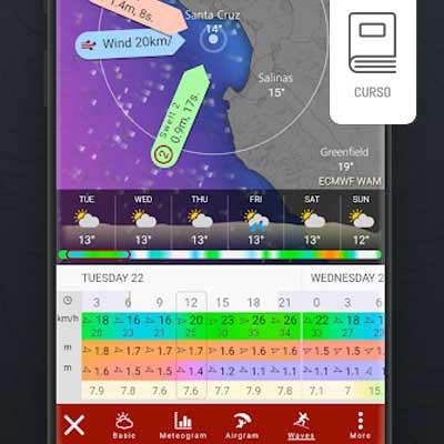 Aplicativo de Meteorologia Windy - Previsão Tempo - Navegacão - Veleiro