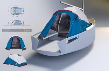 projeto barco camp cruiser dora
