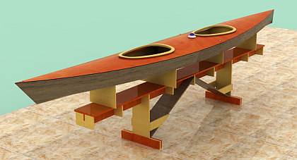 Kayak Saquarema 18´ - Projeto