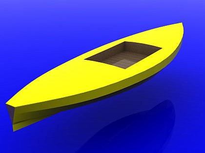 Kayak sit-on-top Paraty 10´