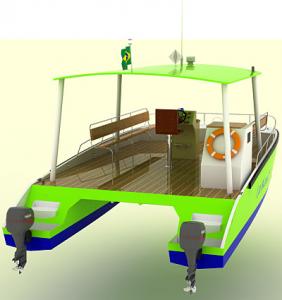 Catamaran Tour 25´